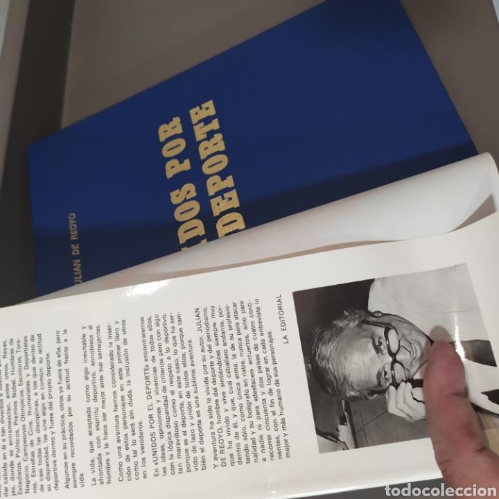 Coleccionismo deportivo: JULIÁN DE REOYO, Unidos por el deporte. desde un caballo al Papa., Editorial TAXCO, 1983.ED LIMITADA - Foto 7 - 218850048