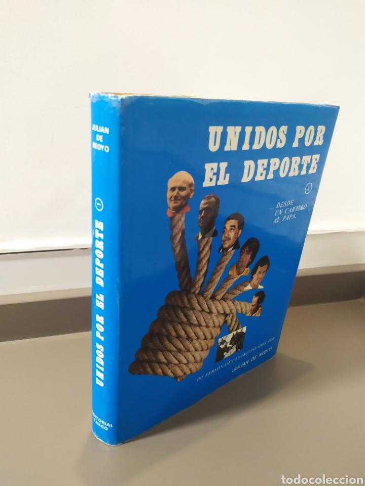 Coleccionismo deportivo: JULIÁN DE REOYO, Unidos por el deporte. desde un caballo al Papa., Editorial TAXCO, 1983.ED LIMITADA - Foto 40 - 218850048