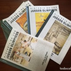 Coleccionismo deportivo: COLECCIÓN 42 FASCÍCULOS HISTORIA DE LAS OLIMPIADAS.. Lote 219756485