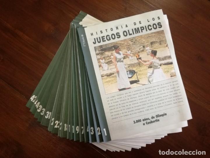 Coleccionismo deportivo: COLECCIÓN 42 FASCÍCULOS HISTORIA DE LAS OLIMPIADAS. - Foto 2 - 219756485