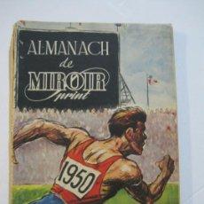 Coleccionismo deportivo: ALMANAQUE DE DEPORTES-ALMANACH DE MIROIR PRINT-AÑO 1950-ATLETISMO,BOXEO,FUTBOL...-VER FOTOS-(K-699). Lote 221152531