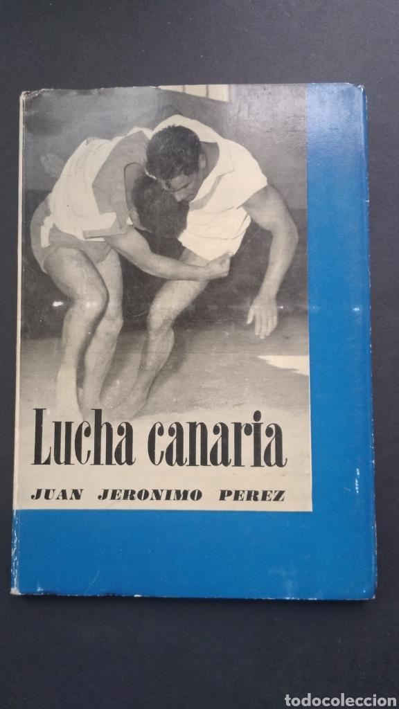 LUCHA CANARIA PRINCIPIOS BÁSICOS 1965 JUAN JERÓNIMO PÉREZ Y PÉREZ COMITÉ OLÍMPICO ESPAÑOL (Coleccionismo Deportivo - Libros de Deportes - Otros)