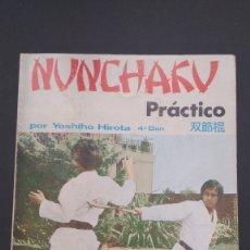 Coleccionismo deportivo: NUNCHAKU PRÁCTICO POR YOSHIHO HIROTA 4 DAN. Lote 221909691