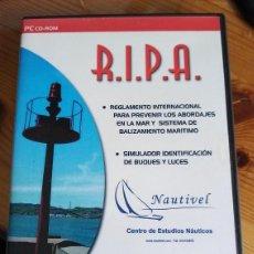 Coleccionismo deportivo: R.I.P.A. REGLAMENTO ABORDAJES. Lote 222427272