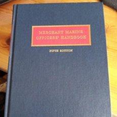 Coleccionismo deportivo: MERCHANT MARINE OFFICERS HANDBOOK. Lote 222435140