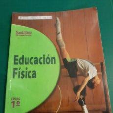 Coleccionismo deportivo: SANTILLANA SECUNDARIA EDUCACIÓN FISICA 1 CURSO. Lote 222435748