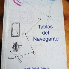 Coleccionismo deportivo: BARBUDO ESCOBAR - TABLAS DEL NAVEGANTE. Lote 222439190