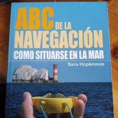 Coleccionismo deportivo: SARA HOPKINSON - ABC DE LA NAVEGACIÓN. Lote 222443395