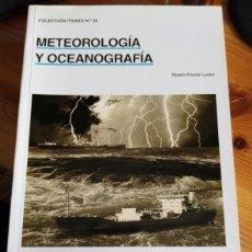 Coleccionismo deportivo: FISURE LANZA - METEREOLOGÍA Y OCEOANOGRAFÍA. Lote 222444206