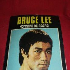 Coleccionismo deportivo: BRUCE LEE, HOMBRE DE ACERO, (1977),MUKTITUD DE FOTOGRAFÍAS D SU VIDA, TÉCNICAS ETC.. 78 PÁGINAS. Lote 222717258