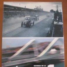 Coleccionismo deportivo: HISTORIA DE LA FORMULA 1 - PASADO Y PRESENTE DE LA MAXIMA COMPETICION - 2007-2008. Lote 222948093