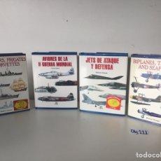 Coleccionismo deportivo: LOTE DE LIBROS , AVIONES Y BARCOS. Lote 224383497