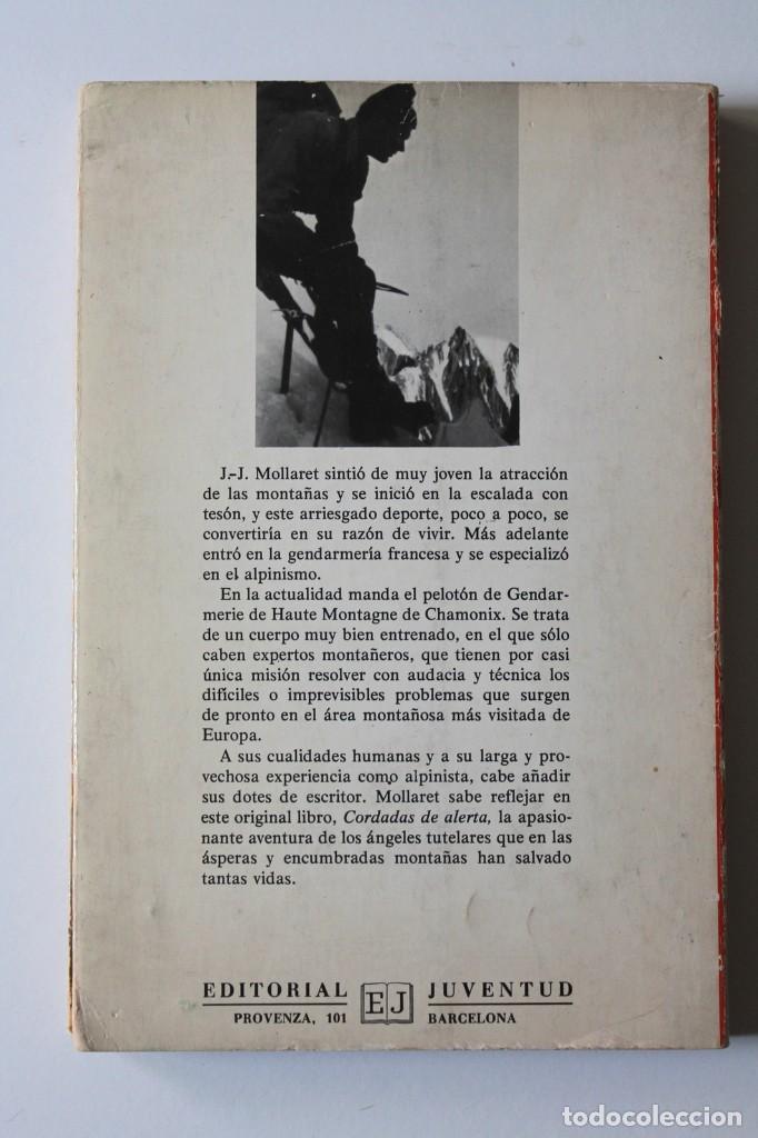 Coleccionismo deportivo: J.-J.Mollaret - Cordadas de alerta - Juventud - Foto 3 - 224834363