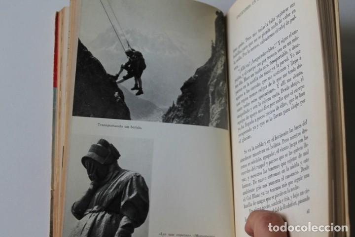 Coleccionismo deportivo: J.-J.Mollaret - Cordadas de alerta - Juventud - Foto 5 - 224834363