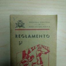 Coleccionismo deportivo: REGLAMENTO DE BASE-BALL - ESCUELA CENTRAL DE EDUCACIÓN FÍSICA - 1942. Lote 224797156