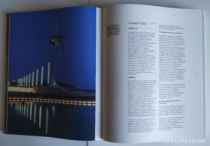 Coleccionismo deportivo: 4 Libros MEMORIA OFICIAL JJ.OO. BARCELONA92 (Versión en catalán). NUEVOS, SIN HOJEAR. - Foto 10 - 226348185