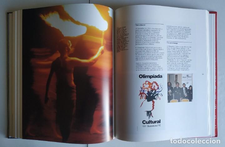 Coleccionismo deportivo: 4 Libros MEMORIA OFICIAL JJ.OO. BARCELONA92 (Versión en catalán). NUEVOS, SIN HOJEAR. - Foto 14 - 226348185