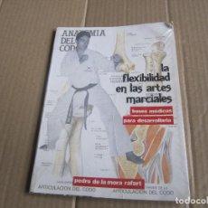 Coleccionismo deportivo: LA FLEXIBILIDAD EN LAS ARTES MARCIALES -PEDRO DE LA MORA RAFART-1ª EDICIÓN 1988. Lote 226808210