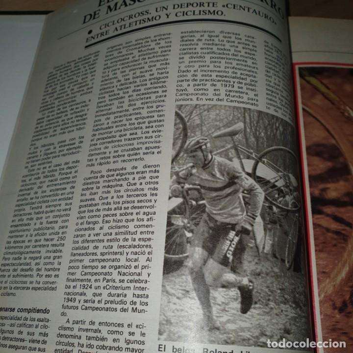 Coleccionismo deportivo: EL MUNDO DEPORTIVO. CICLOCROSS SOLO PARA DEPOTISTAS SUPERDOTADOS. 1958.CICLISMO - Foto 5 - 56897216