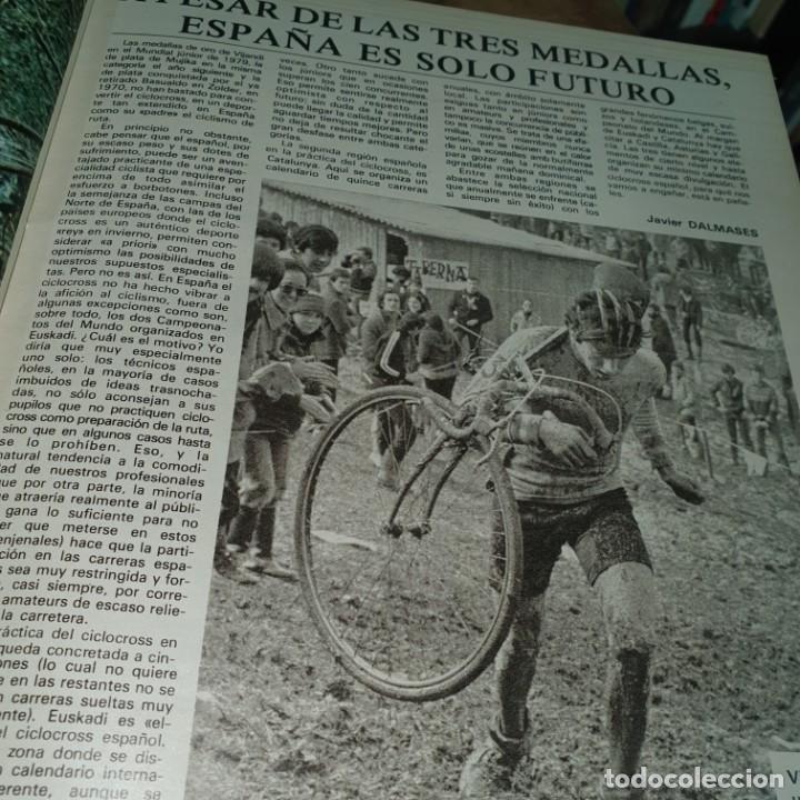 Coleccionismo deportivo: EL MUNDO DEPORTIVO. CICLOCROSS SOLO PARA DEPOTISTAS SUPERDOTADOS. 1958.CICLISMO - Foto 10 - 56897216