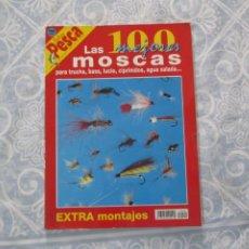 Coleccionismo deportivo: REVISTA FEDER PESCA LAS 100 MEJORES MOSCAS. Lote 277504398