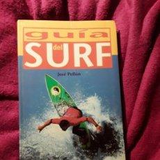 Coleccionismo deportivo: GUIA DEL SURF EN ESPAÑA, DE JOSE PELLÓN. EVEREST, 2000. DESCATALOGADO. RARO. SURFING. Lote 230217825