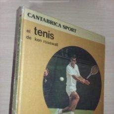 Coleccionismo deportivo: EHTTPS://WWW.TODOCOLECCION.NET/MITL TENIS DE KEN ROSEWALL - CANTÁBRICA SPORT (EDITORIAL CANTABRICA). Lote 230893000
