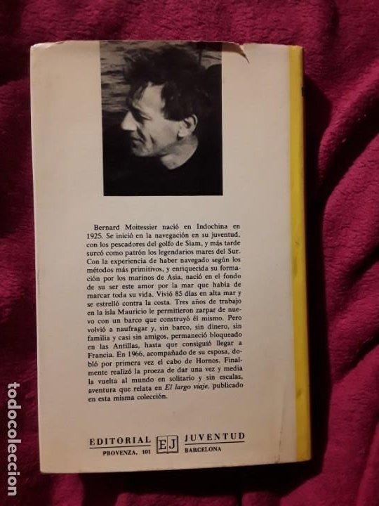 Coleccionismo deportivo: Cabo de hornos a la vela, de Bernard Moitessier. Juventud, tapa dura. Navegación - Foto 2 - 230916050