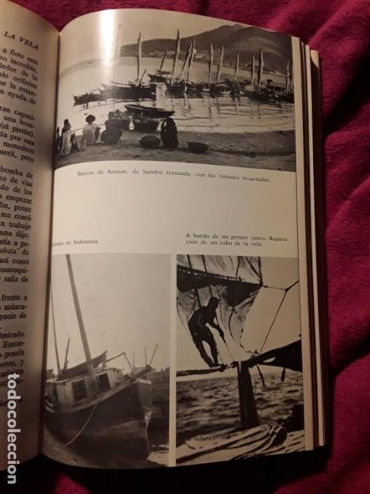 Coleccionismo deportivo: Cabo de hornos a la vela, de Bernard Moitessier. Juventud, tapa dura. Navegación - Foto 7 - 230916050