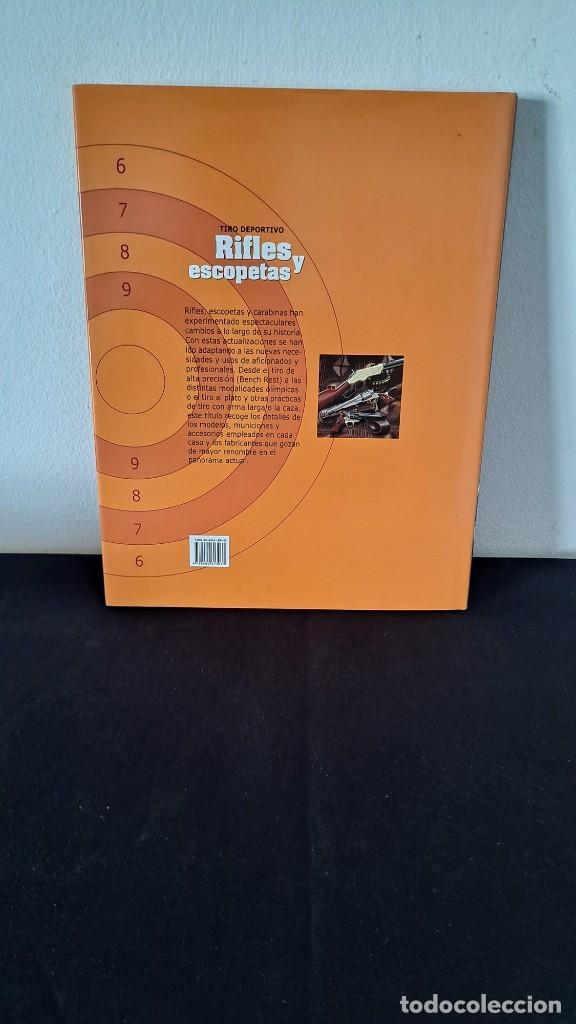 Coleccionismo deportivo: OCTAVIO DIEZ -TIRO DEPORTIVO, RIFLES Y ESCOPETAS - EDICOMUNICACION S.A. 2005 - Foto 2 - 231148060
