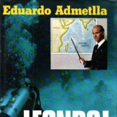 Coleccionismo deportivo: EDUARDO AMETLLA : FONDO - MARES TROPICALES (PLAZA JANÉS, 1976) COMO NUEVO - SUBMARINISMO. Lote 231364910