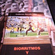 Coleccionismo deportivo: BIORRITMOS Y DEPORTE GUILLERMO BARRALLO VILLAR MONOGRAFIA DE MEDICINA DEPORTIVA. Lote 232005790