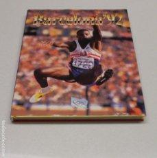 Coleccionismo deportivo: LIBRO CONMEMORATIVO DE LOS JUEGOS OLIMPICOS DE BARCELONA 1992. EXCELENTE. LEER DESCRIPCION.. Lote 232818975