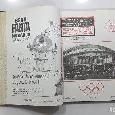 Coleccionismo deportivo: AÑO COMPLETO 1964 REVISTA ESPAÑOLA DE EDUCACIÓN FÍSICA. EN UN TOMO (COLEGIO NACIONAL PROFESORES). Lote 233034275