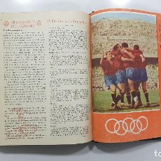 Coleccionismo deportivo: REVISTA ESPAÑOLA DE EDUCACIÓN FÍSICA. 1949-1950. NÚMEROS 1 A 16 EN 1 TOMO.. Lote 233055765