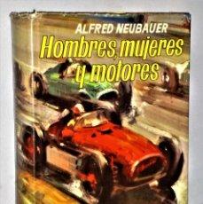 Coleccionismo deportivo: HOMBRES, MUJERES Y MOTORES.. Lote 233874670