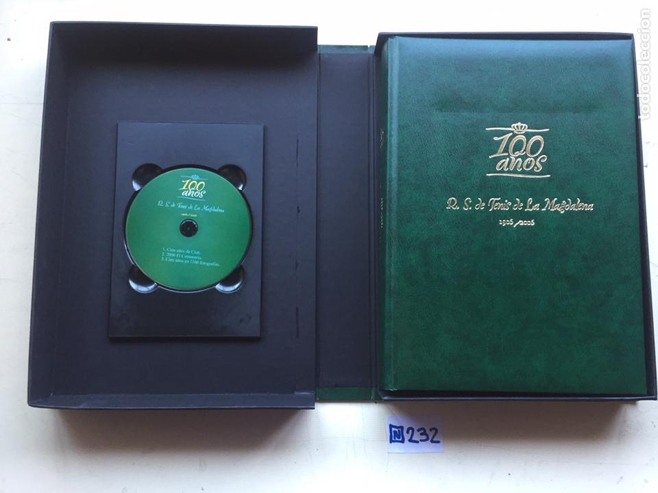 Coleccionismo deportivo: Libro de lujo 100 años r.s de tenis de la magdalena 1906 a 2006 y dvd - Foto 2 - 235190410