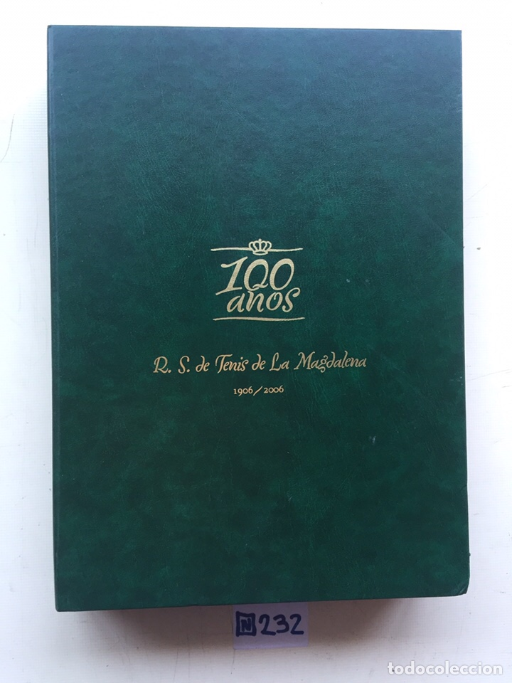 LIBRO DE LUJO 100 AÑOS R.S DE TENIS DE LA MAGDALENA 1906 A 2006 Y DVD (Coleccionismo Deportivo - Libros de Deportes - Otros)