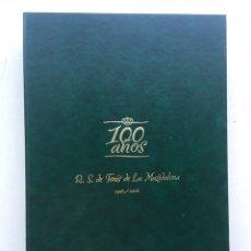 Coleccionismo deportivo: LIBRO DE LUJO 100 AÑOS R.S DE TENIS DE LA MAGDALENA 1906 A 2006 Y DVD. Lote 235190410