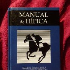 Coleccionismo deportivo: EXCELENTE ESTADO. MANUAL OFICIAL DE LA SOCIEDAD HIPICA BRITANICA Y PONY CLUB. BLUME 2002 TAPA DURA. Lote 235368865