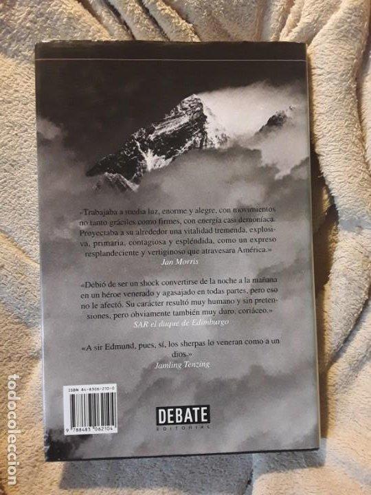 Coleccionismo deportivo: Una visión desde la cumbre, de Sir Edmund Hillary. Montañismo, alpinismo, everest. Excelente estado - Foto 2 - 236830000