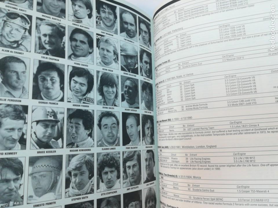 Coleccionismo deportivo: The Grand Prix Whos who STEVE SMALL Formula 1 Quien es quien en Inglés 1996 RM43996 - Foto 9 - 21928055