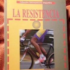 Coleccionismo deportivo: LA RESISTENCIA, DE FERNANDO NAVARRO. GYMNOS. DESCATALOGADO. ENTRENAMIENTO DEPORTIVO. EXCELENTE ESTAD. Lote 241525835