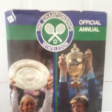 Coleccionismo deportivo: 41090 - THE CHAMPIONSHIPS WIMBLEDON - OFFICIAL ANNUAL - AÑO 1985 - EN ONGLES. Lote 241627695