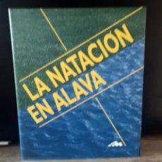 Coleccionismo deportivo: LA NATACION EN ALAVA. Lote 245123145