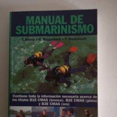 Coleccionismo deportivo: MANUAL SUBMARINISMO - CÚPULA. Lote 245490295
