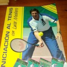 Coleccionismo deportivo: INICIACIÓN AL TENIS CON LUIS MEDIERO.. Lote 245509245