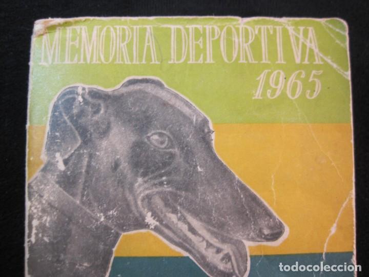 Coleccionismo deportivo: GALGOS-FEDERACION ESPAÑOLA GALGUERA-MEMORIA DEPORTIVA 1965-VER FOTOS-(K-2084) - Foto 3 - 248306145