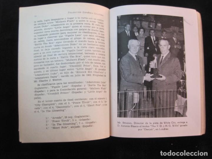 Coleccionismo deportivo: GALGOS-FEDERACION ESPAÑOLA GALGUERA-MEMORIA DEPORTIVA 1965-VER FOTOS-(K-2084) - Foto 28 - 248306145