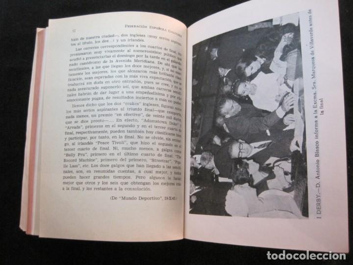 Coleccionismo deportivo: GALGOS-FEDERACION ESPAÑOLA GALGUERA-MEMORIA DEPORTIVA 1965-VER FOTOS-(K-2084) - Foto 30 - 248306145